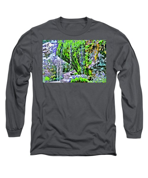 Flower Falls Long Sleeve T-Shirt