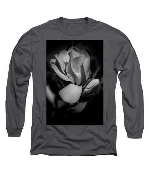 Flower Noir Long Sleeve T-Shirt