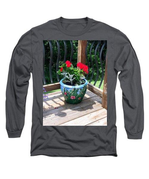 Flower Pot Long Sleeve T-Shirt