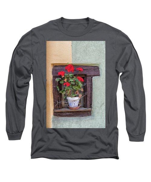 Flower Still Life Long Sleeve T-Shirt by Alan Toepfer