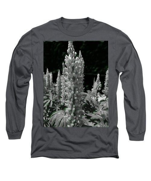 Flowering Green Aura Long Sleeve T-Shirt