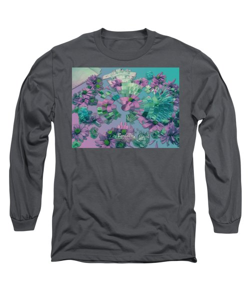 Flowers And Paper Long Sleeve T-Shirt by Barbara Tristan