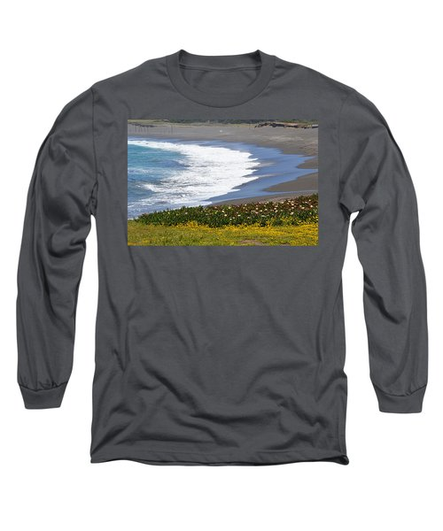 Flowers By The Sea Long Sleeve T-Shirt