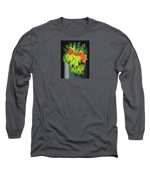 Flowers For Cricket Long Sleeve T-Shirt