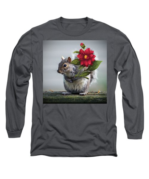 Flowers For You Long Sleeve T-Shirt by Brian Wallace