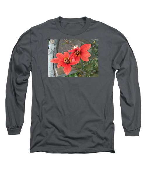 Flowers In Love Long Sleeve T-Shirt