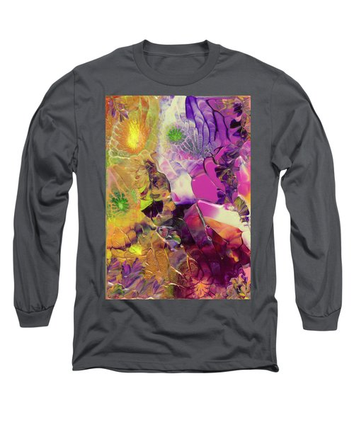 Flowers Of The Cosmic Sea Long Sleeve T-Shirt