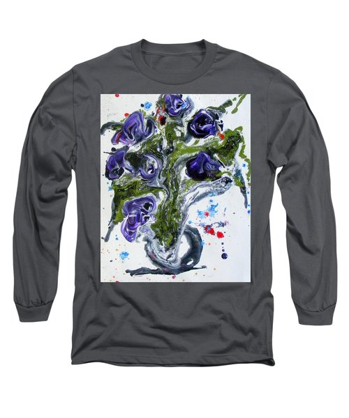 Flowers Of The Mind Long Sleeve T-Shirt