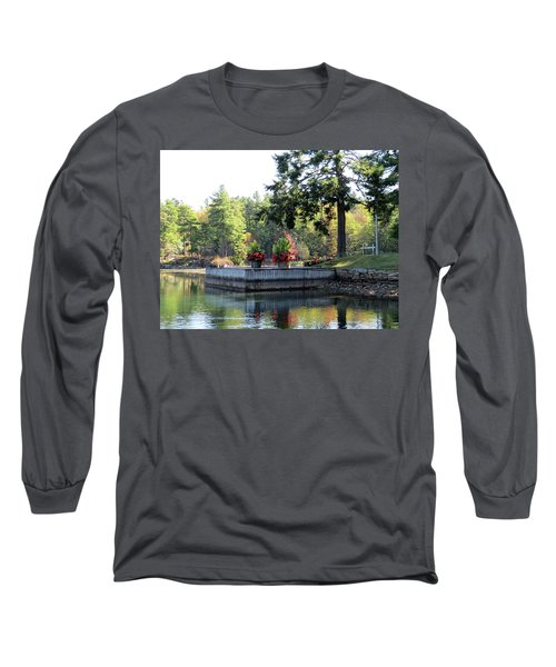Flowers On The Rift Long Sleeve T-Shirt