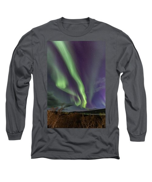Flowing Aurora Long Sleeve T-Shirt