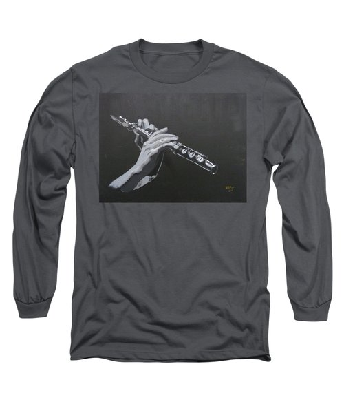 Flute Hands Long Sleeve T-Shirt