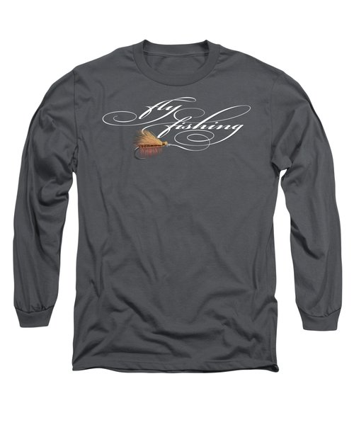 Fly Fishing Elk Hair Caddis Long Sleeve T-Shirt
