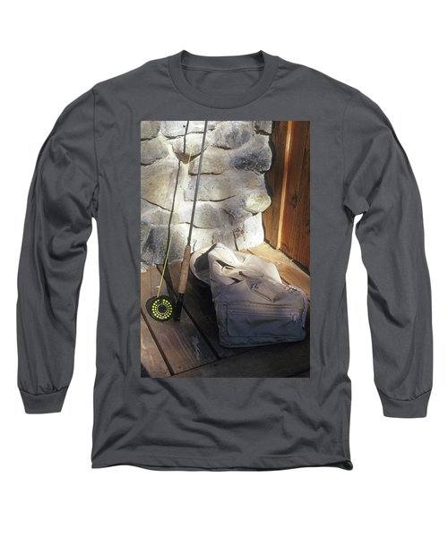 Fly Rod And Vest Long Sleeve T-Shirt