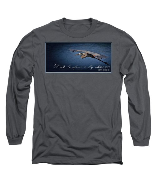 Flying Alone Long Sleeve T-Shirt