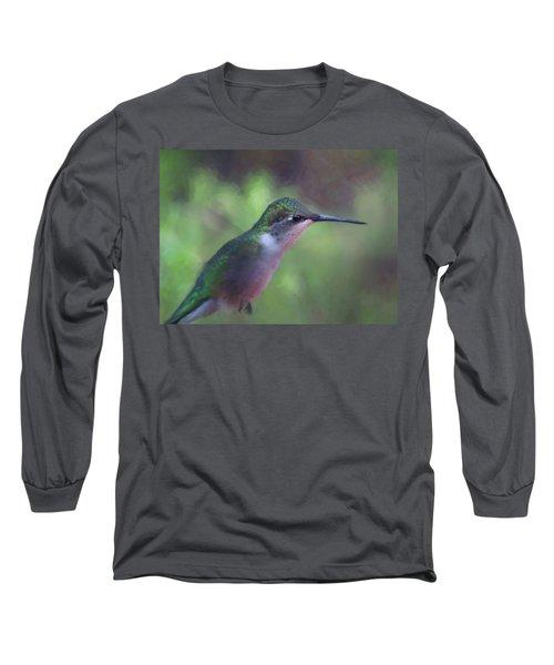 Flying Flower Long Sleeve T-Shirt
