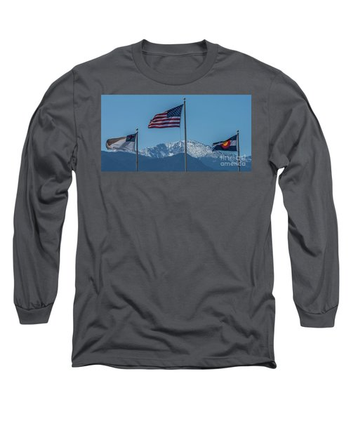 America The Beautiful Long Sleeve T-Shirt