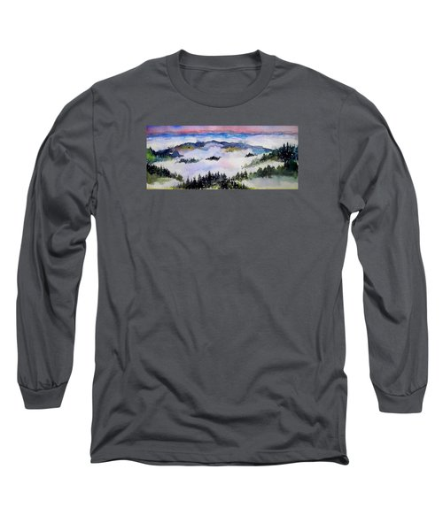 Fog  Above Long Sleeve T-Shirt