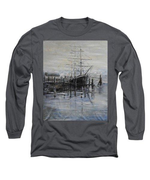 Fog Bound At Tillamok Long Sleeve T-Shirt