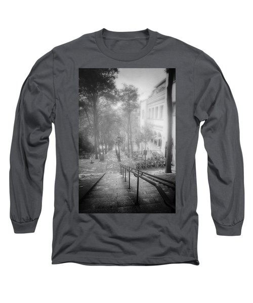 Fog In Montmartre Long Sleeve T-Shirt