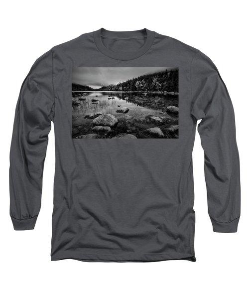 Fog On Bubble Pond Long Sleeve T-Shirt