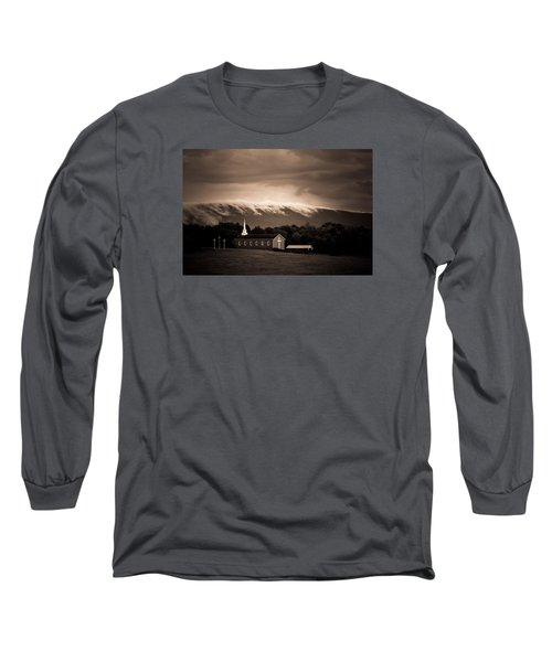 Fog Tendrils Long Sleeve T-Shirt by Carlee Ojeda