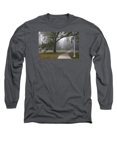 Foggy Campus  Long Sleeve T-Shirt