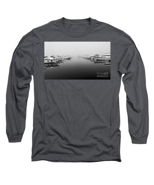 Foggy Day Banagher Long Sleeve T-Shirt