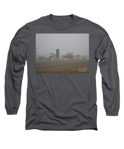Foggy Evening Long Sleeve T-Shirt