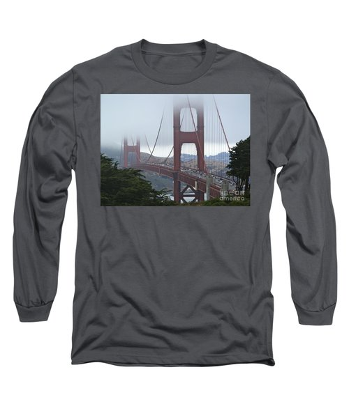 Foggy Golden Gate Long Sleeve T-Shirt