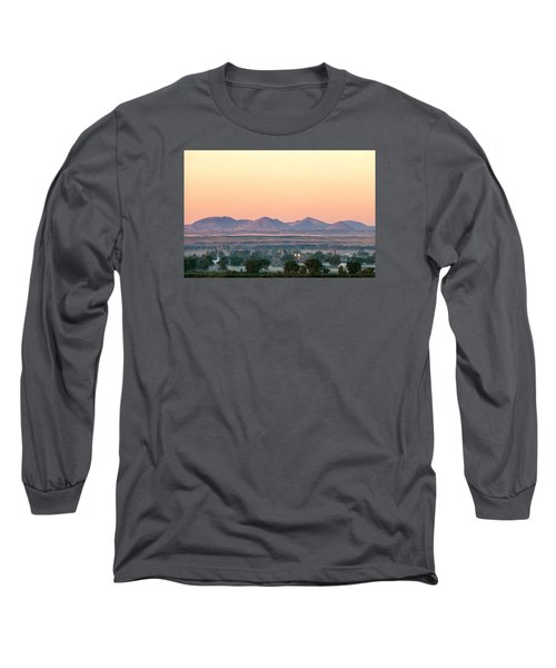 Foggy Harlem Bottom Long Sleeve T-Shirt by Todd Klassy