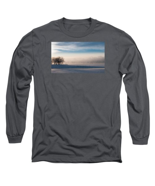 Long Sleeve T-Shirt featuring the photograph Foggy Morning At Lake Loveland by Monte Stevens
