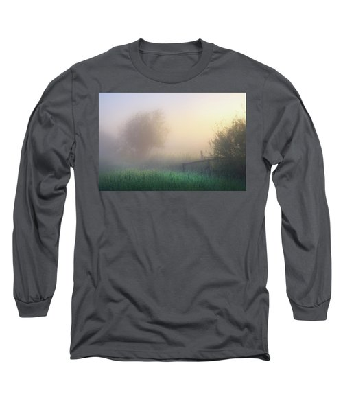 Long Sleeve T-Shirt featuring the photograph Foggy Morning by Dan Jurak