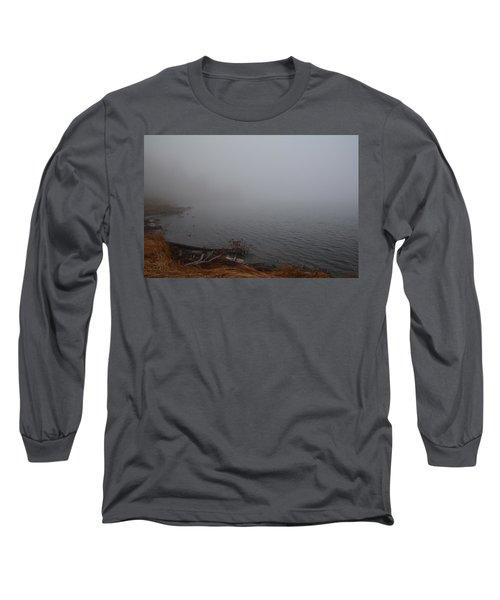 Foggy Shore Long Sleeve T-Shirt