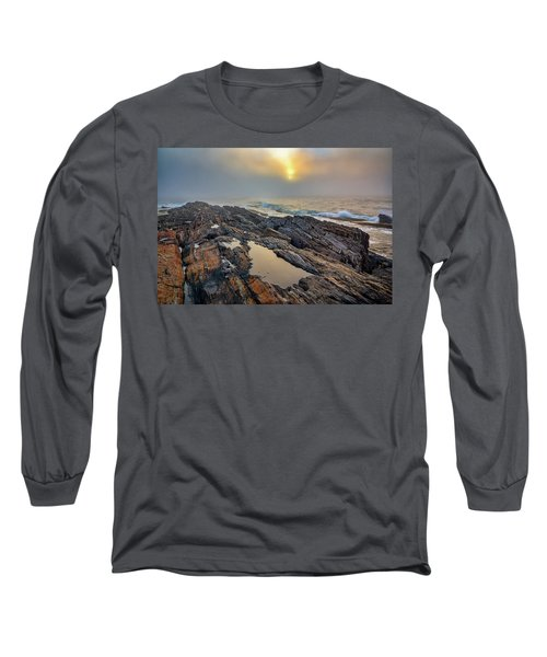 Foggy Sunrise At Giant's Stairs Long Sleeve T-Shirt