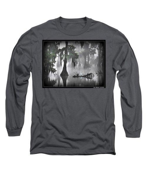 Tread Here Carefully Long Sleeve T-Shirt