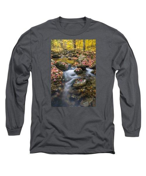 Foliage Brook Long Sleeve T-Shirt