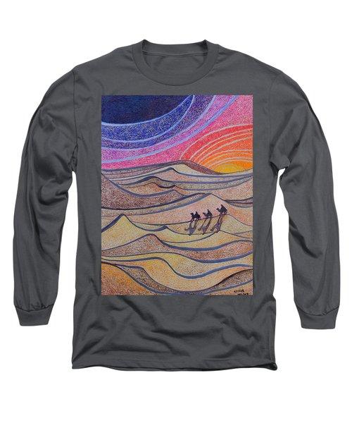 Follow The Star   Long Sleeve T-Shirt