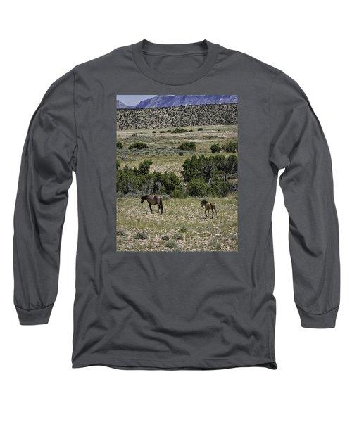 Following Momma Long Sleeve T-Shirt