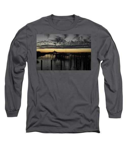 Folly Beach Dock Long Sleeve T-Shirt