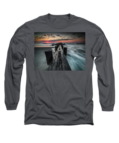 Folly Beach Tale Of Two Sides Long Sleeve T-Shirt