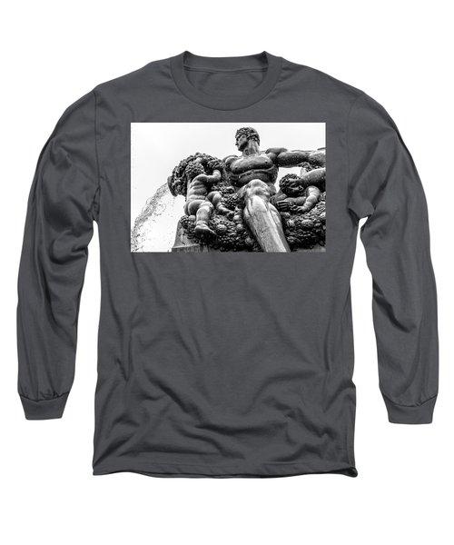 Fontana Di Piazza Solferino-1 Long Sleeve T-Shirt