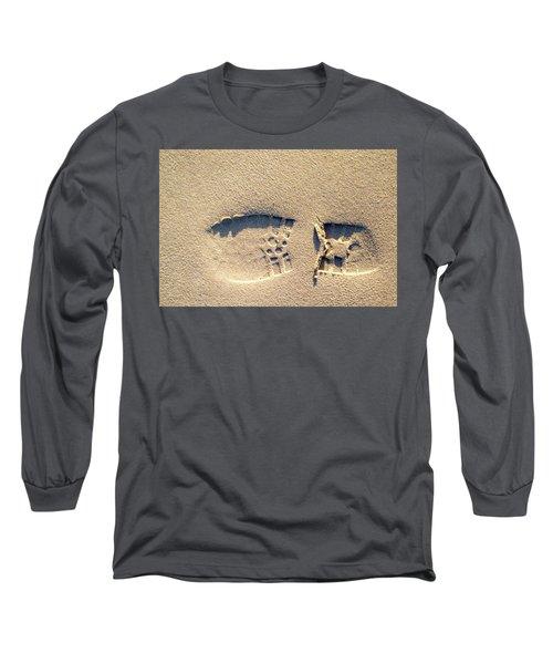 Foot Print Long Sleeve T-Shirt