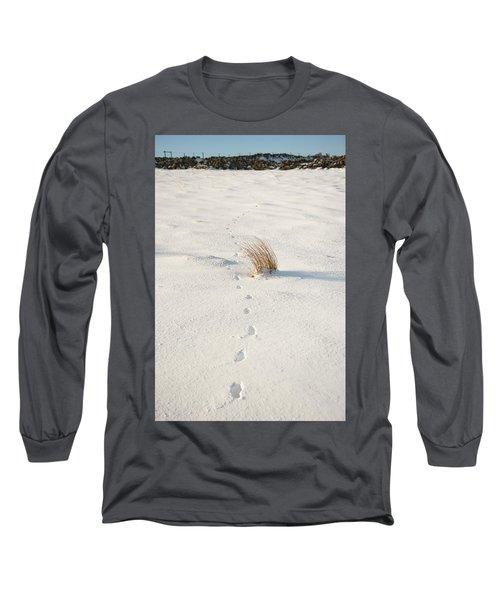 Footprints In The Snow II Long Sleeve T-Shirt