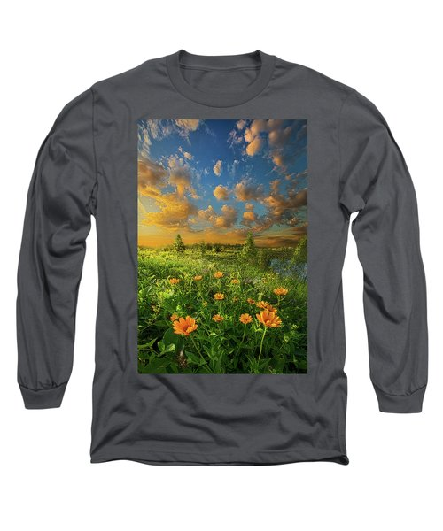Long Sleeve T-Shirt featuring the photograph For A Moment All The World Was Right by Phil Koch