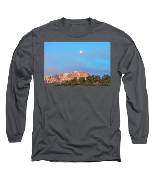 For God So Loved The World That He Created Mountains.  Long Sleeve T-Shirt