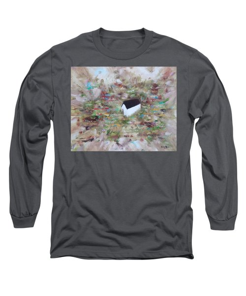 Long Sleeve T-Shirt featuring the painting For Sheila by Judith Rhue