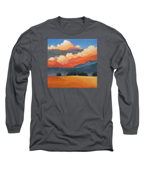 For The Love Of Clouds Long Sleeve T-Shirt by Gary Coleman