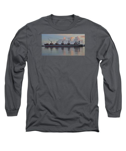 Long Sleeve T-Shirt featuring the photograph Force Ranger Loading At Dawn by Bradford Martin