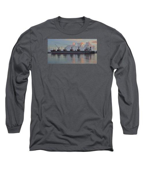 Force Ranger Loading At Dawn Long Sleeve T-Shirt by Bradford Martin