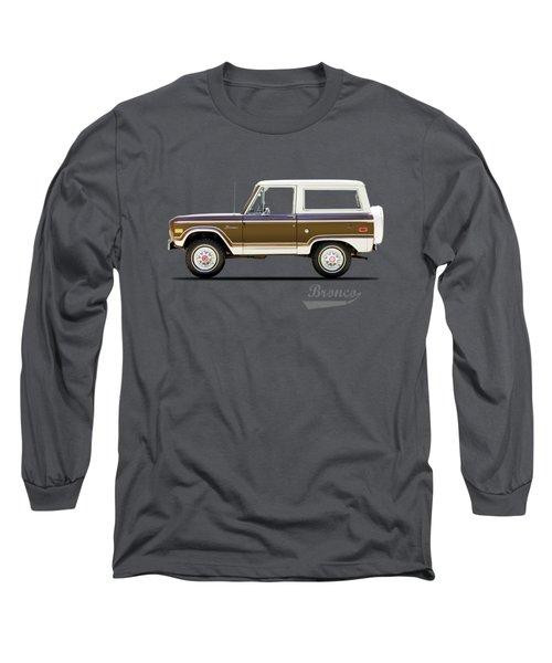 Ford Bronco Ranger 1976 Long Sleeve T-Shirt
